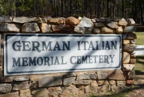 The cemetery is near Fort McClellan. (Karim Shamshi-Basha/Alabama NewsCenter)