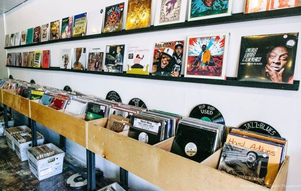 The vinyl albums at Seasick Records range from new releases to used LPs from vinyl's original heyday. (Jaysen Michael/Secret Playground)