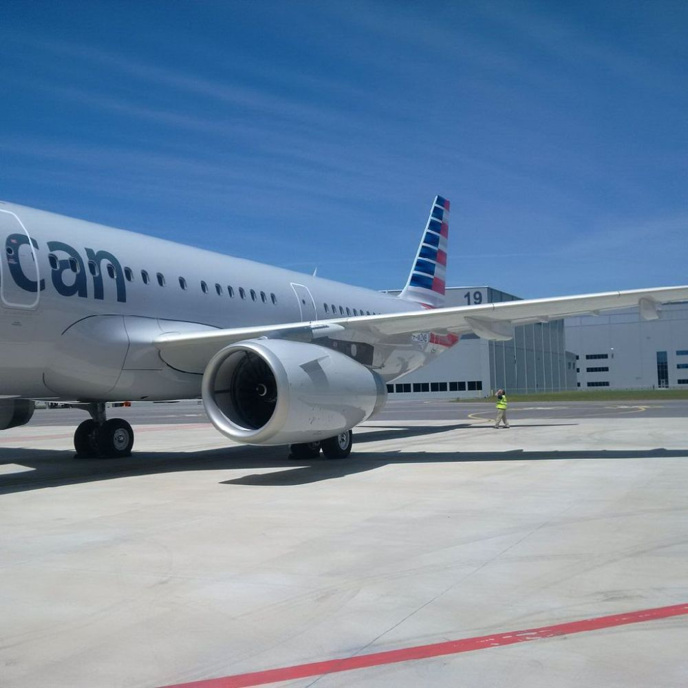 American Airlines gets its first Alabama-made Airbus A321