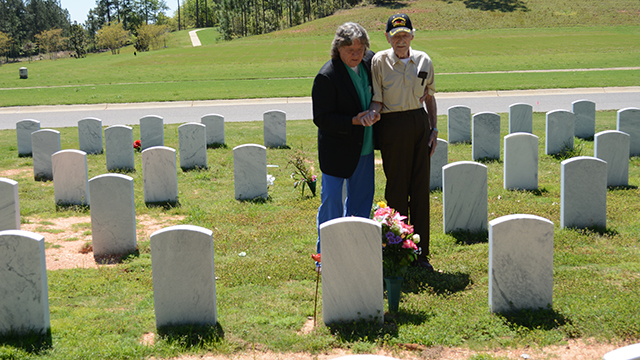 Barry Booth honors veterans with Alabama State Veterans Memorial Cemetery at Spanish Fort