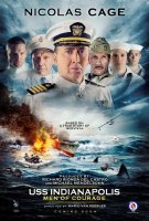 "A poster for the Alabama-filmed ""USS Indianapolis: Men of Courage,"" starring Nicolas Cage. (Promotional)"