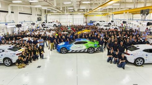 EcoCar competition in Yuma, Arizona (contributed)
