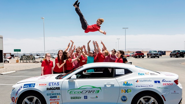 University of Alabama team takes fourth in national EcoCar competition