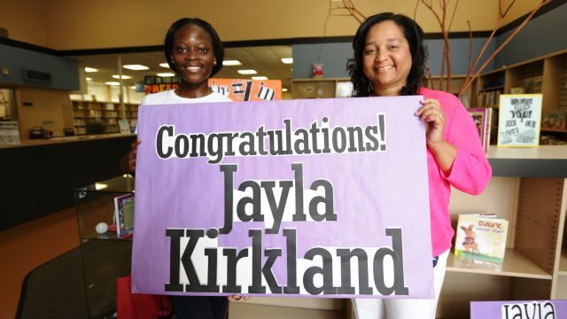 Woodlawn High track star Jayla Kirkland ranked No. 2 in the nation