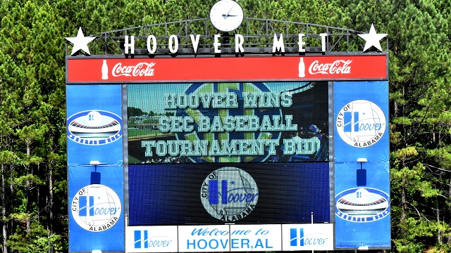 Hoover steps up to the plate to keep SEC Baseball Tournament in Alabama