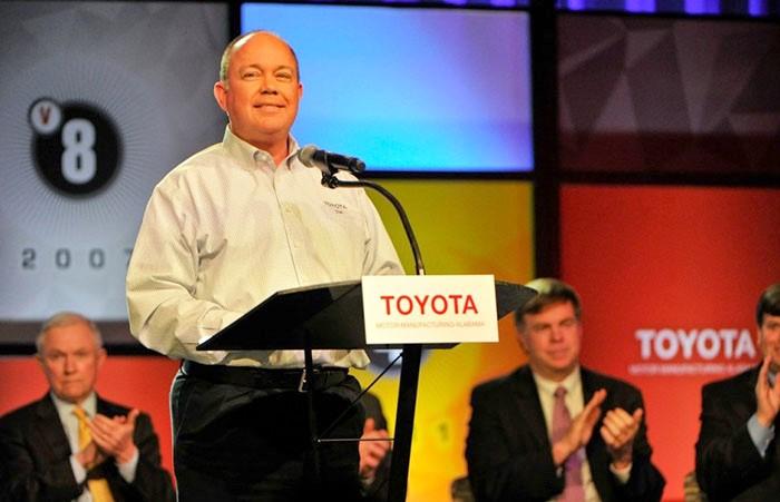 Toyota Alabama's Jim Bolte