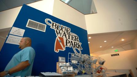 Blue Water Park in Pelham. (David Macon/Alabama NewsCenter)