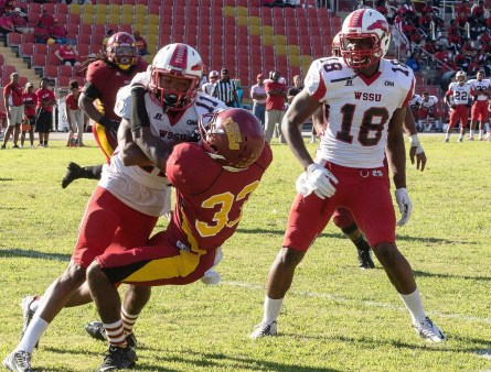Darius Holmes, a first-team all-conference corner back, is returning for Tuskegee this year. (Tuskegee Athletics)
