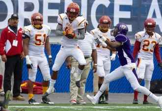 Wide receiver Desmond Reece is a standout for Tuskegee. (Tuskegee Athletics)