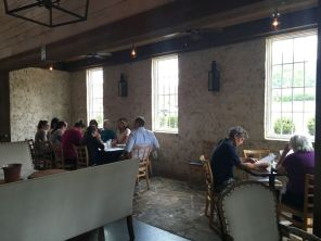 Customers dine at Acre Restaurant (Brittany Faush-Johnson/Alabama NewsCenter)