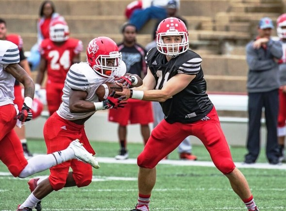 University of West Alabama Coach Brett Gilliland is expecting good things this fall from quarterback Austin Grammer, a transfer from Middle Tennessee State. (UWA Athletics)