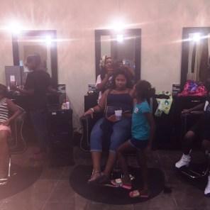 Salon services for students at Nova Essence Medispa (Keisa Sharpe/Alabama NewsCenter)