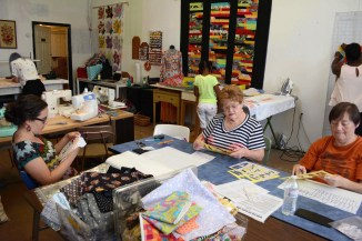 Bib & Tucker Sew-Op is stitching art and community together. (Karim Shamsi-Basha/Alabama NewsCenter)
