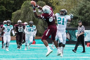 The Bulldogs will be looking to tight end Jonathan Dorsey to make some big plays this year. (Alabama A&M Athletics)