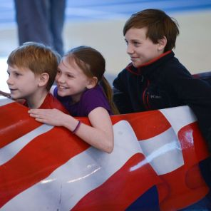 The Lakeshore Foundation's Children participate in Spirit of Sochi family festival held in conjunction with the Winter Olympics in Sochi, Russia, in 2014. (contributed)