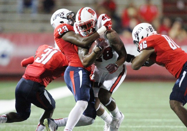 Roman Buchanan is South Alabama's four-year defensive starter and likely bound for the NFL, coach Joey Jones says. (Scott Donaldson/Icon Sportswire)