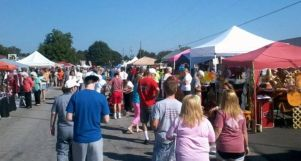 The festival offers shopping galore.