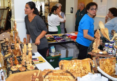 The St. George Middle Eastern Food Festival is taking place through September 16 in Birmingham. (Michael Tomberlin / Alabama NewsCenter)