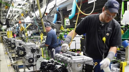 The Toyota plant in Huntsville expects to produce its 5 millionth engine next year. (Toyota)