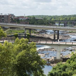 The Chattahoochee River as seen from Troy University in Phenix City, Al. (Bernard Troncale/Alabama NewsCenter)