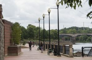 The Chattahoochee Riverwalk in Columbus, Ga. (Bernard Troncale/Alabama NewsCenter)