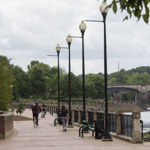 The Chattahoochee Riverwalk in Columbus, Ga. (Bernard Troncale/Alabama NewsCenter)
