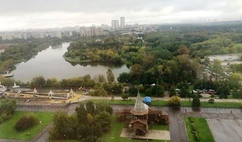 Moscow during the recent visit by Alabama Secretary of State John Merrill. (John Merrill)