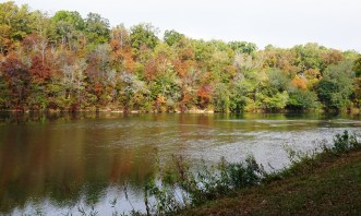 Fall foliage along the Tallapoosa River, Horseshoe Bend National Military Park. (contributed)