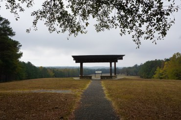 Battlefield Overlook at the Horseshoe Bend National Military Park. (file)
