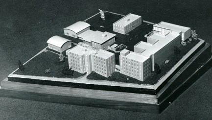 A model of the planned Southern Research campus in Birmingham. (Southern Research)
