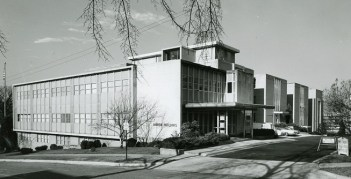 Southern Research's Martin Building, named for founding chairman Tom Martin. (Southern Research)