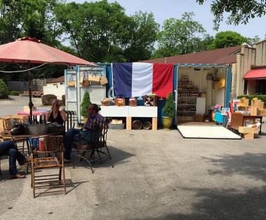 Le Pop-Up is a shipping container turned into a pop-up store filled with goods from France. (Photo/contributed)