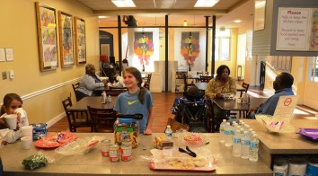 Ronald McDonald House in Birmingham provides a comfortable place to stay for families of children being treated in area hospitals. (Karim Shamsi-Basha/Alabama NewsCenter)