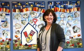 Katherine Estes Billmeier and Ronald McDonald House in Birmingham provide a comfortable place to stay for families of children being treated in area hospitals. (Karim Shamsi-Basha/Alabama NewsCenter)