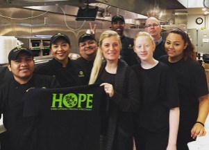 Taziki's HOPE program is an important part of its place in the community. (Contributed)