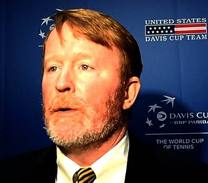 Jeff Ryan of the United States Tennis Association talks about Davis Cup tennis returning to the Magic City. (Solomon Crenshaw/Alabama NewsCenter)