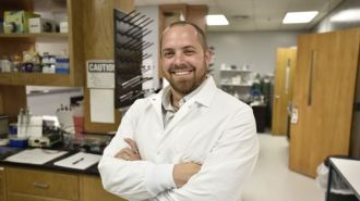 Robert Sorge, Ph.D., is among the medical researchers doing important work at UAB. (File)