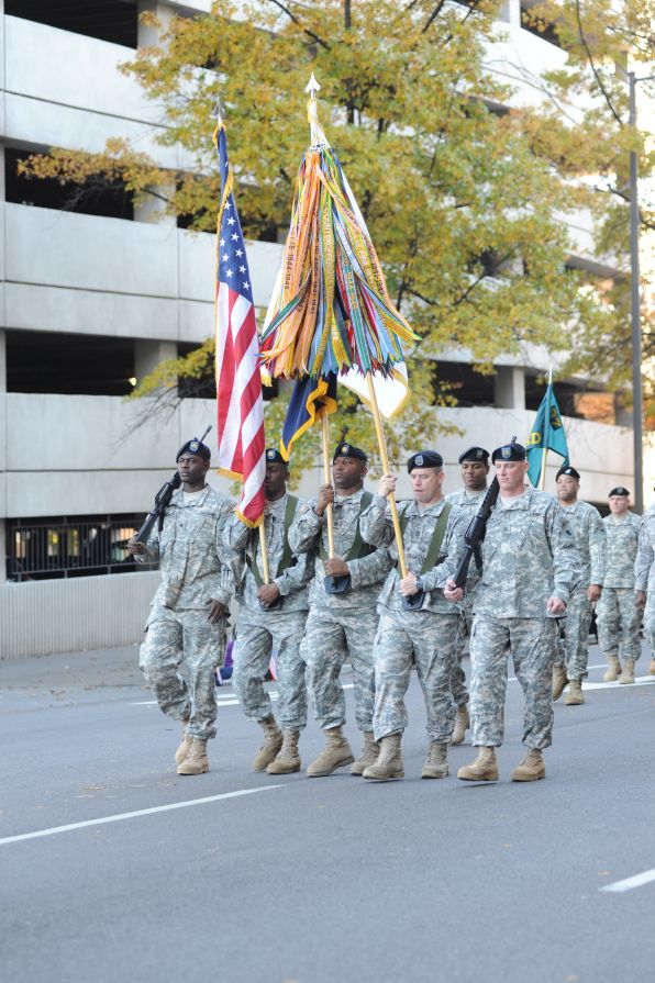 Show your patriotic spirit at a Veteran's Day event. (Alabama NewsCenter/file)