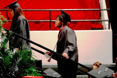 Reuben Foster was one of more than 30 Crimson Tide student-athletes graduation from the University of Alabama Saturday. (Robert Sutton/UA Athletics)