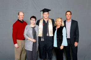 Becker O'Shaughnessey was among more than 30 student-athletes who graduated from the University of Alabama on Saturday (Shelby Akin/UA Athletics)