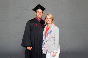 Brian Westlake was among more than 30 student-athletes who graduated from the University of Alabama on Saturday (Shelby Akin/UA Athletics)