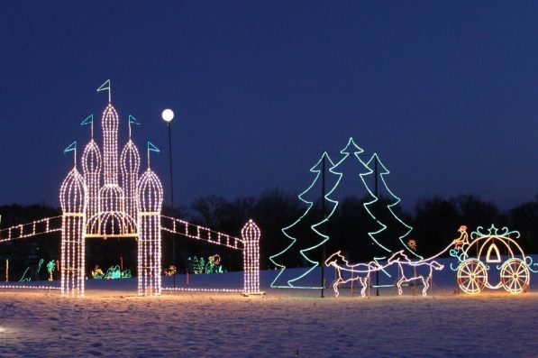Galaxy of Lights at the Huntsville Botanical Gardens (Contributed).