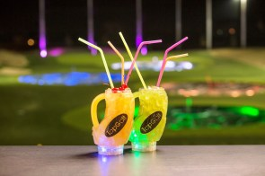 With its restaurant and food service, Topgolf is a dining destination. (Topgolf)