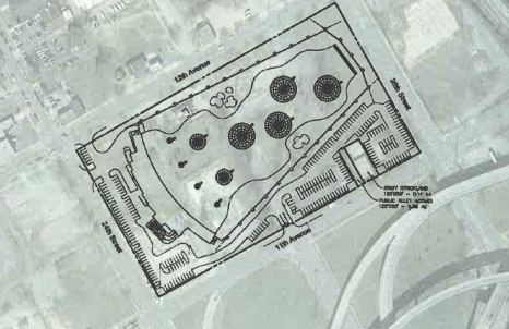 This site plan shows how the Topgolf Birmingham will be developed on the 10 acres near the BJCC. (contributed)