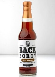 Gadsden's Back Forty has branched into food with products such as its beer vinegar. (Contributed)