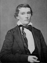Portrait of Alexander Stephens, Vice President of the Confederacy, c. 1860-1865. (Library of Congress Prints and Photographs Division)