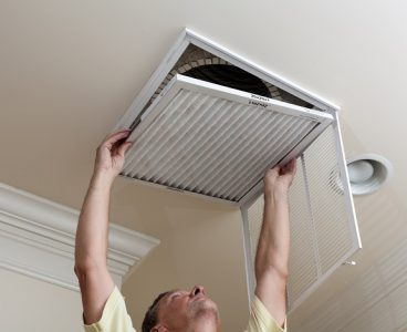 Keeping clean filters in place helps your system work more efficiently. (iStock)
