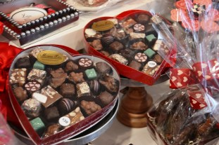 The staff at Morgan Price Candy Company puts a lot of effort into presentation. (Karim Shamsi-Basha/Alabama NewsCenter)
