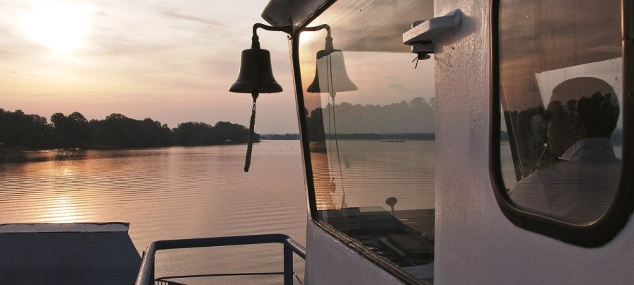 Alabama's Gee's Bend Ferry, a popular tourist attraction that runs from Camden to Gee's Bend, will soon become the first all-electric passenger ferry in the U.S., and the second in the world. (HMS Ferries)
