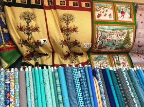 Ashville House Quilt Shop carries a large selection of high-quality fabrics. (Brittany Faush-Johnson/Alabama NewsCenter)